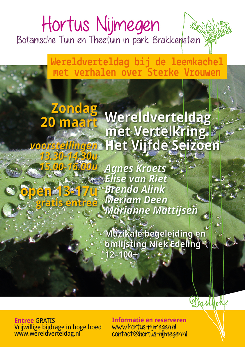 Flyer Wereldverteldag 2016